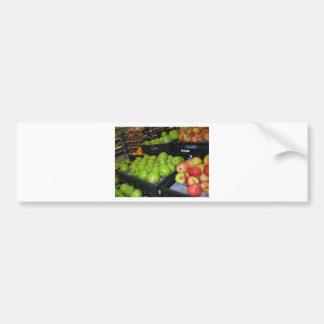 Knoxville zoo 031.JPG-apples fruit for decor Bumper Sticker
