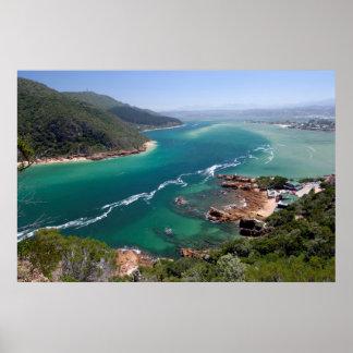 Knysna Lagoon, Garden Route, Western Cape Poster
