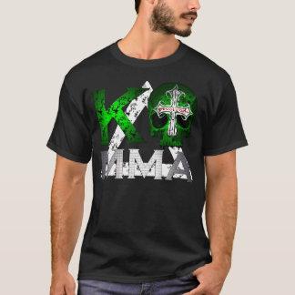 KO MMA Skull and Kombat Kross Dark T T-Shirt