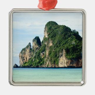 Ko Phi Phi Island on Andaman Sea, Krabi Metal Ornament
