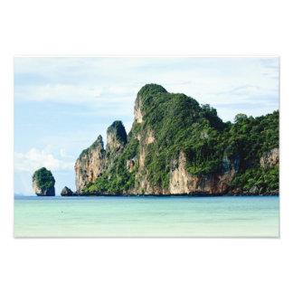 Ko Phi Phi Island on Andaman Sea, Krabi Photograph