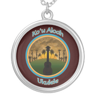 Ko`u Aloah Ukulele Necklace