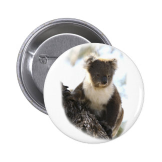Koala 2 6 cm round badge