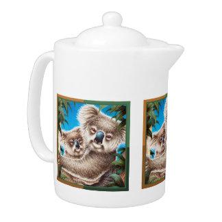 Koala and Baby Teapot