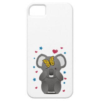 Koala And Butterfly iPhone 5 Case