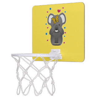 Koala And Butterfly Mini Basketball Hoop