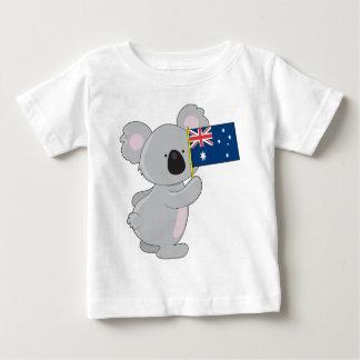 Koala Australian Flag Baby T-Shirt
