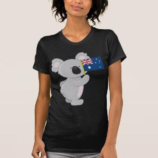 Koala Australian Flag T-Shirt