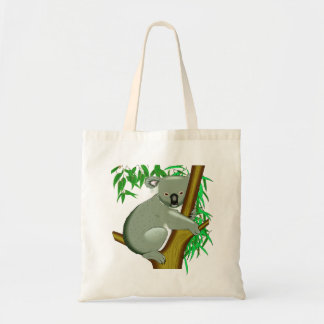 Koala - Australian Tree Living Marsupial Budget Tote Bag