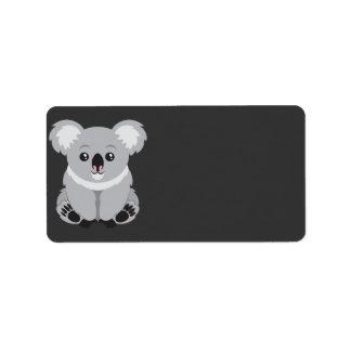 Koala Bear Address Label