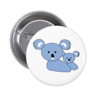 Koala bear pinback button