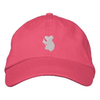 Koala Bear Embroidered Hat