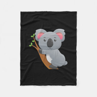 Koala Bear Fleece Blanket