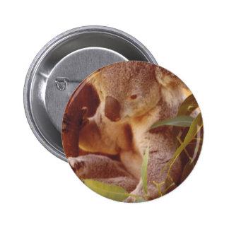 Koala Bear Love 6 Cm Round Badge