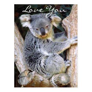 Koala Bear Love_ Postcard