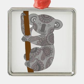 Koala Bear Metal Ornament