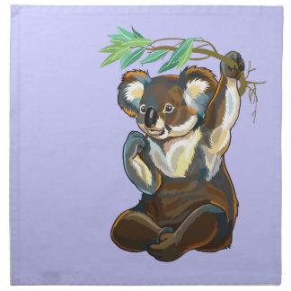 koala bear napkin