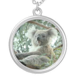 Koala Bear Silver Plated Necklace