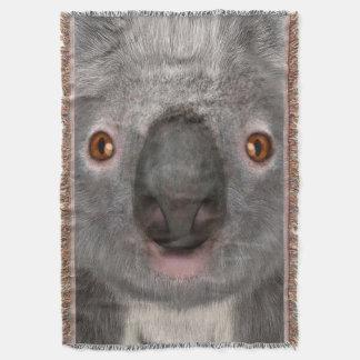 Koala Bear Throw Blanket