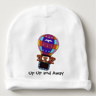 Koala Bears Air Balloon Ride Baby Beanie