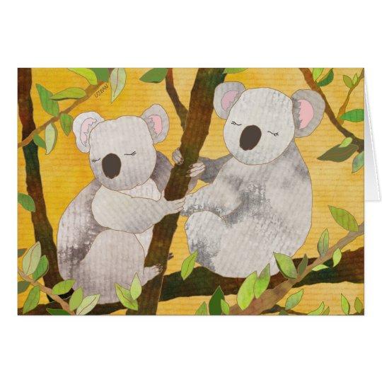 Koala Bears: Blank Card