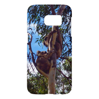 Koala-Bears_Climbing_Trees,_Samsung Galaxy S7 Case