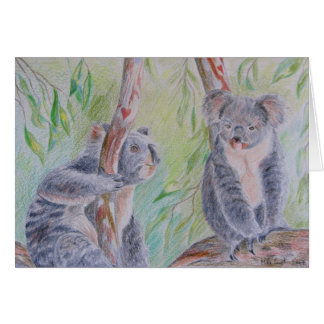 Koala Bears Greeting Card