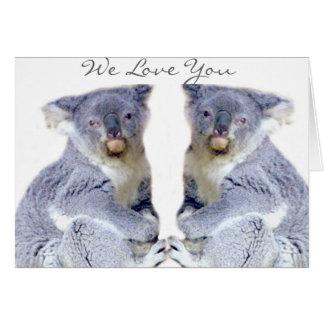 Koala Bears Love_ Card
