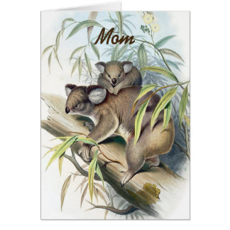 Koala Bears Mother's Day Greeting Card