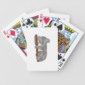 Koala Bicycle Playing Cards