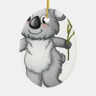 Koala Ceramic Oval Decoration