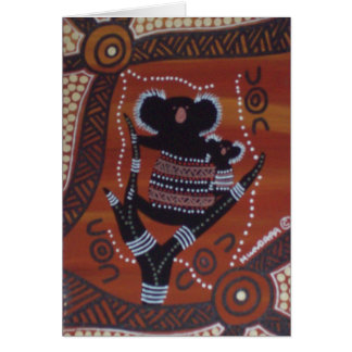 Koala Dreaming Card with Dreamtime Story