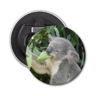 Koala Eating Gum Leaf Bottle Opener