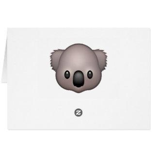 Koala - Emoji Card