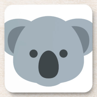 Koala emoji coaster