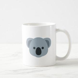 Koala emoji coffee mug