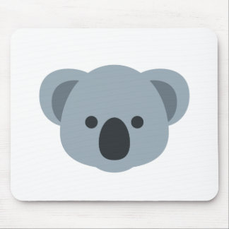 Koala emoji mouse pad