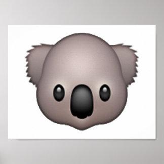 Koala - Emoji Poster