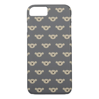 Koala Face Print iPhone 8/7 Case