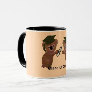 Koala Graduation Mugs
