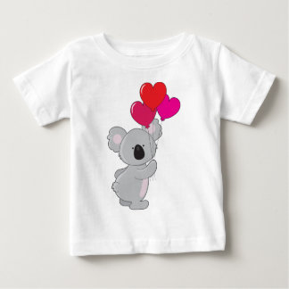 Koala Heart Balloons Baby T-Shirt