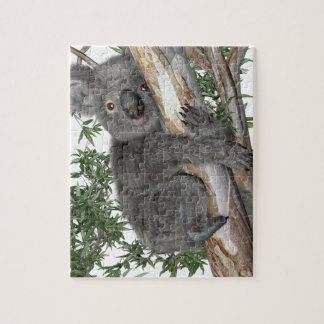 Koala in a Tree Jigsaw Puzzle