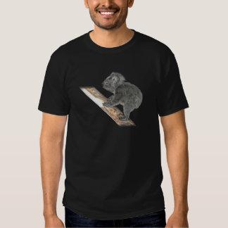 Koala In Profile Climbing Tshirt
