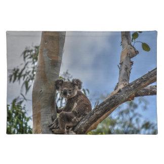 KOALA IN TREE AUSTRALIA ART EFFECTS PLACE MAT