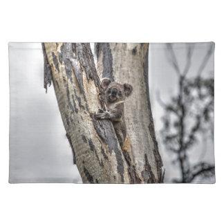 KOALA IN TREE AUSTRALIA ART EFFECTS PLACEMAT