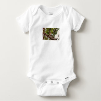 KOALA IN TREE RURAL QUEENSLAND AUSTRALIA BABY ONESIE