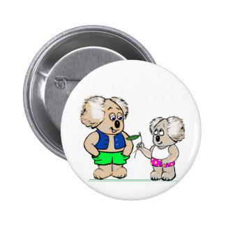 Koala Mates 6 Cm Round Badge