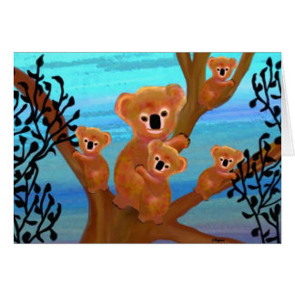 Koala Mother's Love Card