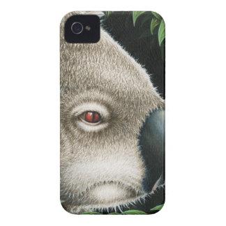Koala Munching a Leaf Case-Mate iPhone 4 Cases