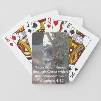 Koala strength playing cards
